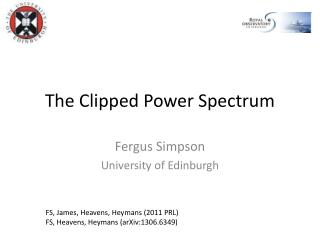 The Clipped Power Spectrum