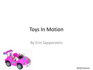 Toys In Motion