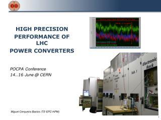 POCPA  Conference 14..16  June @ CERN