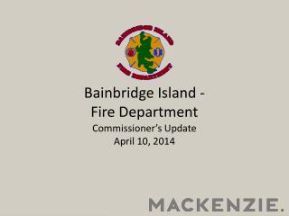 Bainbridge Island -  Fire Department