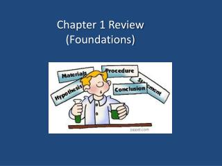 Chapter 1 Review  (Foundations)