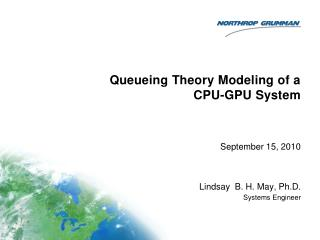 Queueing Theory Modeling of a CPU-GPU System
