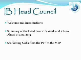 IB Head Council