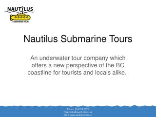 Nautilus Submarine Tours