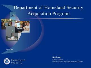 Department of Homeland Security Acquisition Program