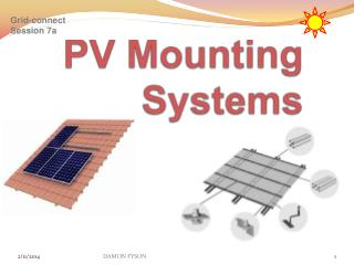 PV Mounting Systems