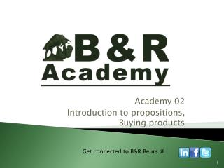 Academy 02 Introduction to propositions, Buying products