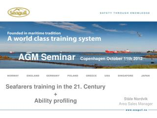 AGM Seminar   Copenhagen October 11th 2012