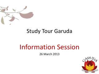 Study  Tour  Garuda