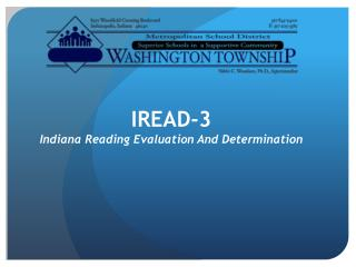 IREAD-3 Indiana Reading Evaluation And Determination