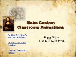 Make Custom Classroom Animations