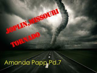 Joplin,Missouri Tornado