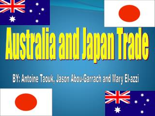 Australia and Japan Trade