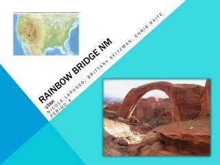 Rainbow Bridge NM Utah