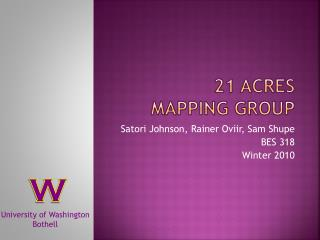 21 Acres  Mapping Group