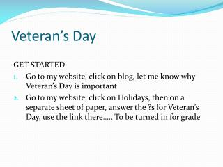 Veteran�s  Day