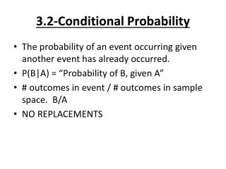 3.2-Conditional Probability