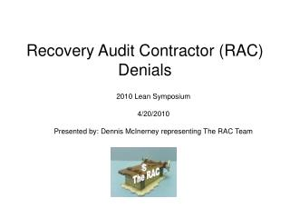 Recovery Audit Contractor RAC Denials