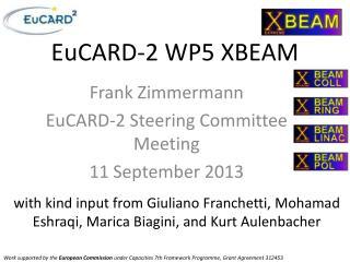 EuCARD-2 WP5 XBEAM