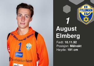 August Elmberg