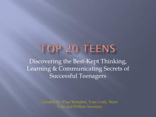 Top 20 Teens