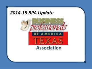2014-15 BPA Update