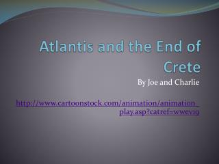 Atlantis and the End of Crete