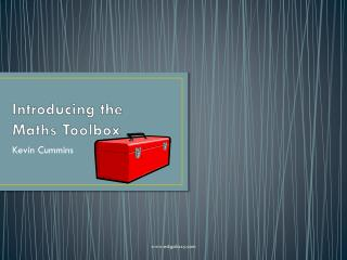 Introducing the Maths Toolbox