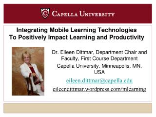 Integrating Mobile Learning Technologies To Positively Impact Learning and Productivity