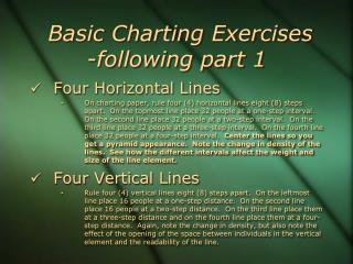 Basic Charting Exercises -following part 1