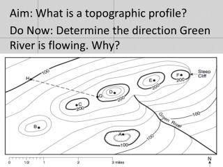 Aim: What is a topographic profile?