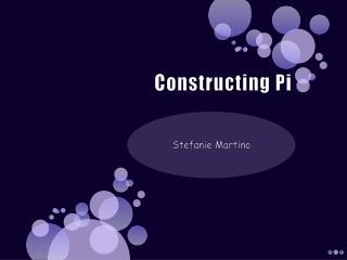 Constructing Pi