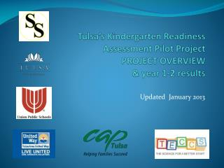Tulsa's Kindergarten Readiness Assessment Pilot Project PROJECT OVERVIEW & year 1-2 results