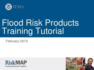 Flood Risk Products Training Tutorial