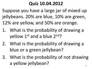 Quiz 10.04.2012