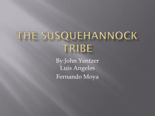 The  Susquehannock  Tribe