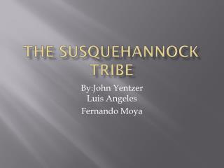 The  Susquehannock  Tribe