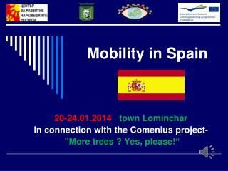 Mobility in Spain
