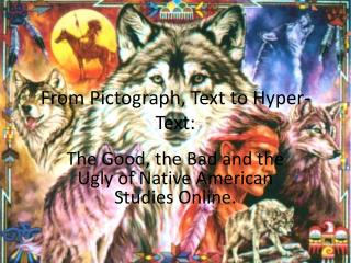 From  Pictograph ,  Text to Hyper-Text: