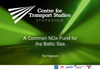 A Common NOx-Fund for  the Baltic Sea
