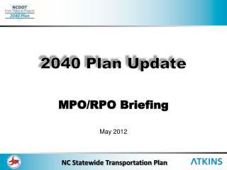 MPO/RPO Briefing