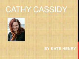 Cathy Cassidy