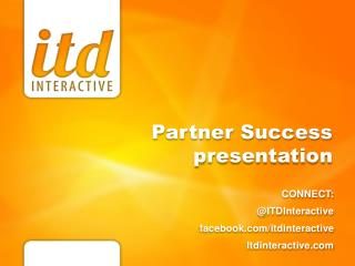 Partner Success presentation