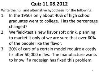 Quiz 11.08.2012