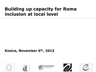 Building up capacity for Roma inclusion at local  level