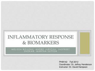 Inflammatory Response & Biomarkers
