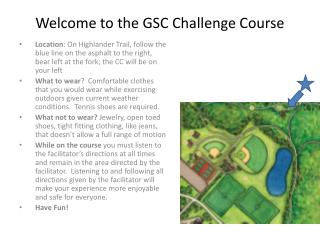 Welcome to the GSC Challenge Course