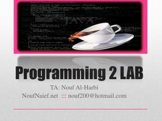 Programming 2 LAB