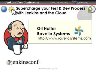 Supercharge your Test &  Dev  Process with Jenkins and the Cloud