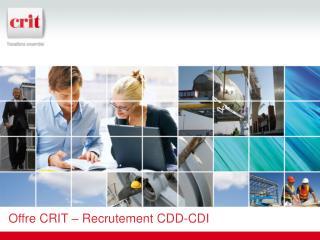 Offre CRIT  –  Recrutement CDD-CDI